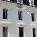 Rénovation d'une façade, ravalement extérieur réalisé par yoanplatrerie.fr