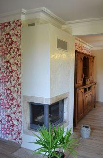 Rénovation d'un interieur : Tapisserie, peinture, revêtement de sol et carrelage